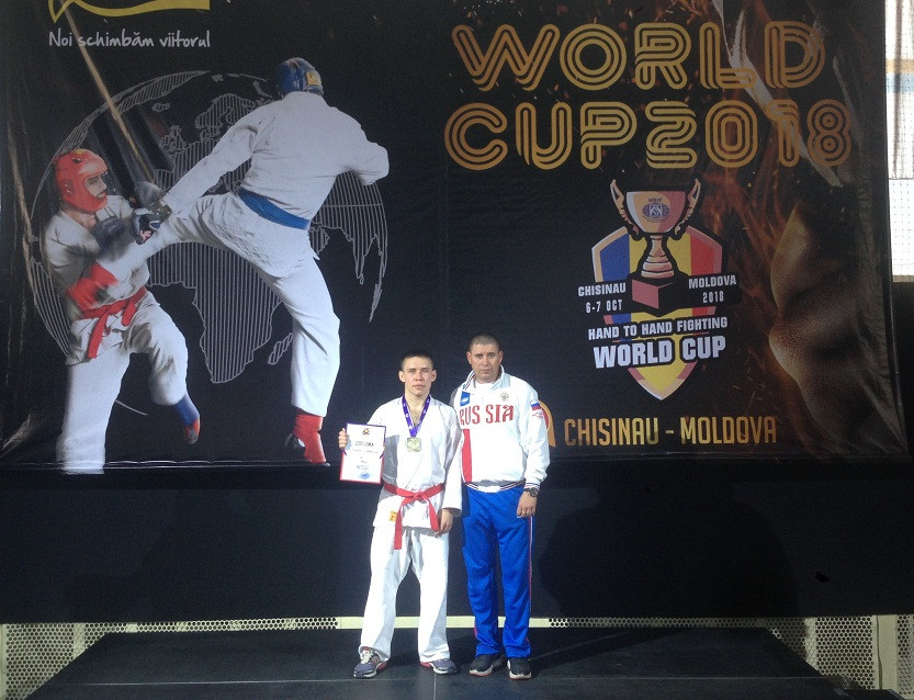 Прокопчанин стал призером Кубка Мира по рукопашному бою