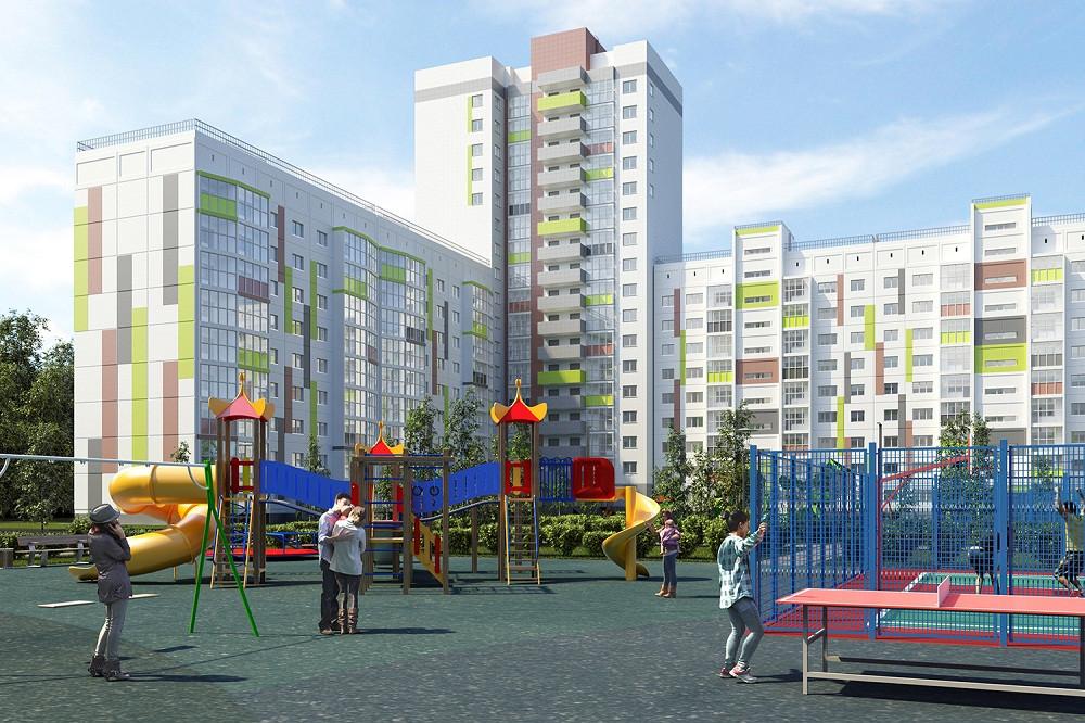 Переезжайте в семейный микрорайон в Новосибирске!
