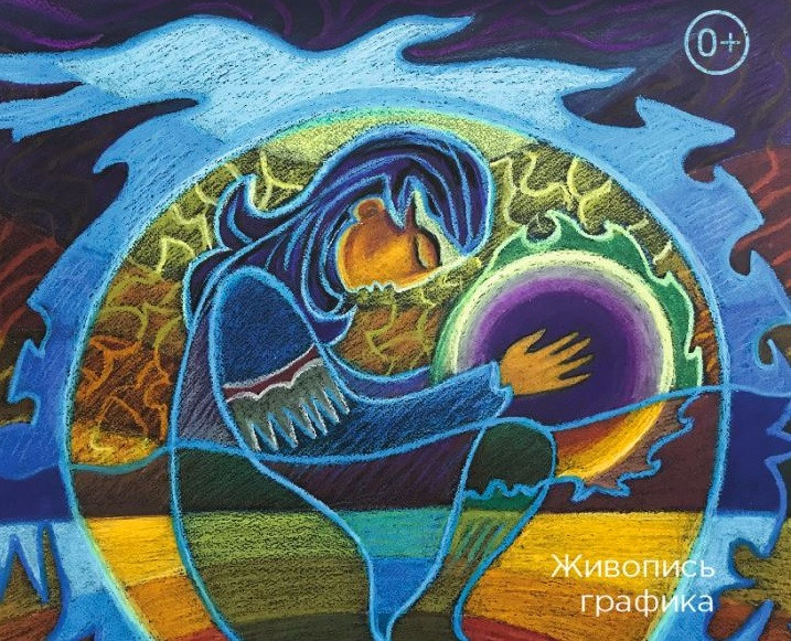 «Небесный терафим»: в Прокопьевске открыта выставка работ московской художницы