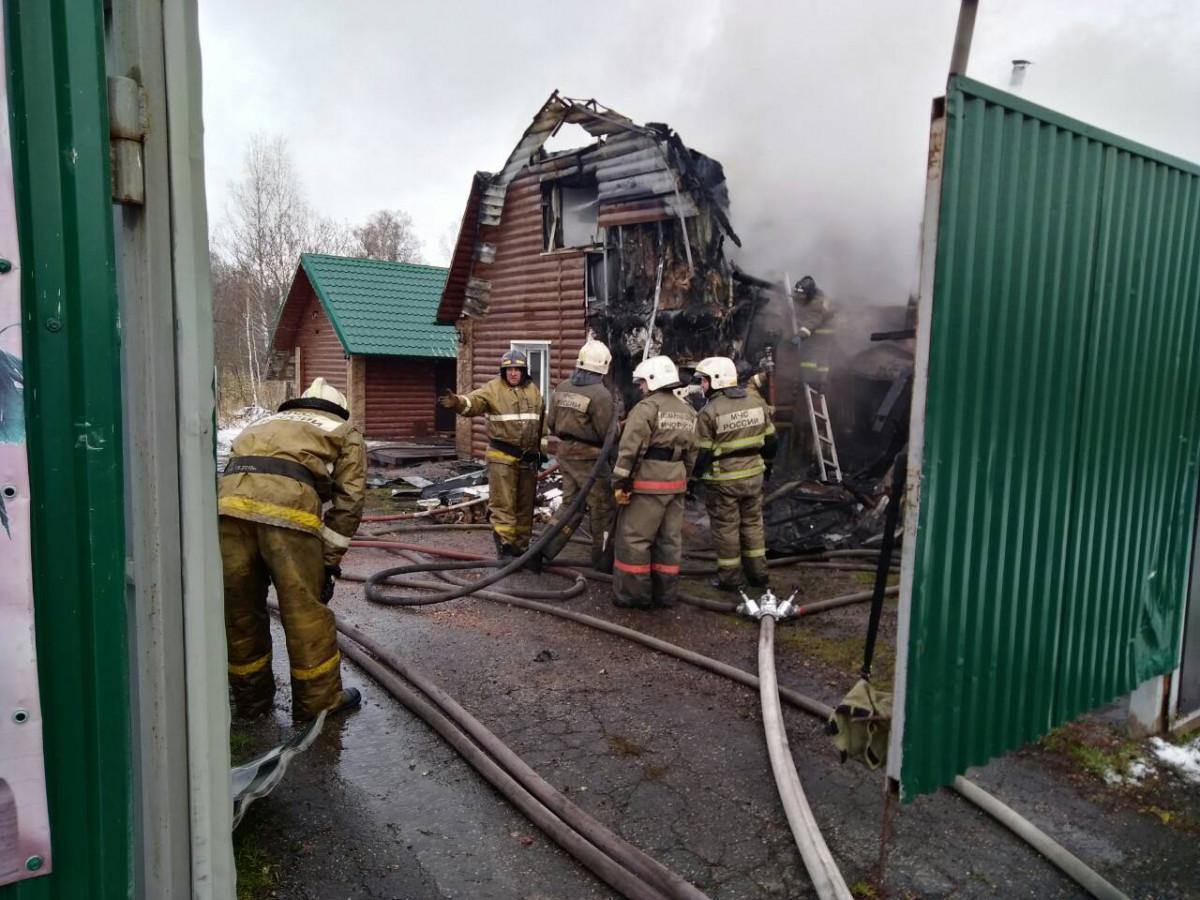 В Прокопьевске сгорело популярное место отдыха горожан