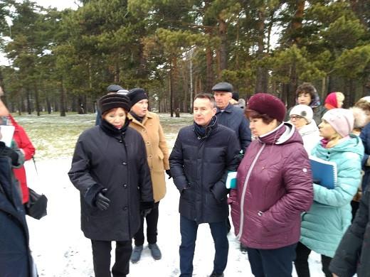 Власти Прокопьевска побывали с проверкой в Зенковском районе