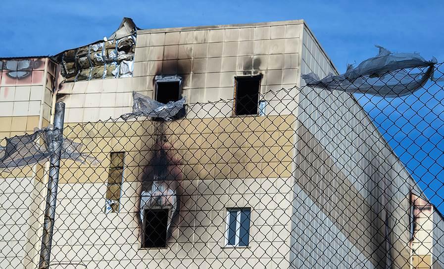 По делу о пожаре в «Зимней вишне» задержаны новые фигуранты