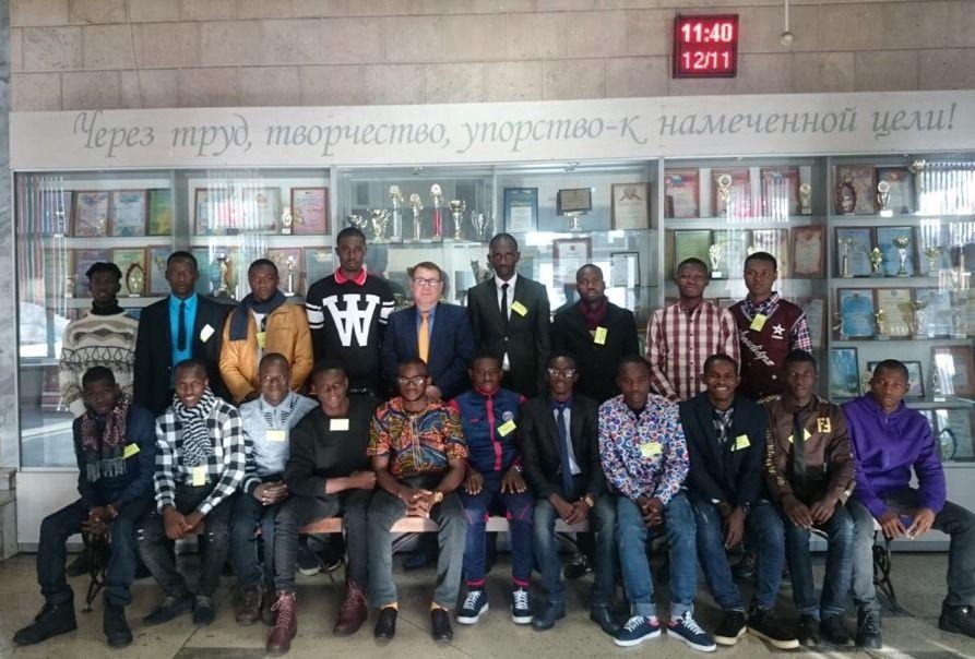 В Кузбасс приехали 20 гвинейцев, чтобы обучиться горняцкому делу