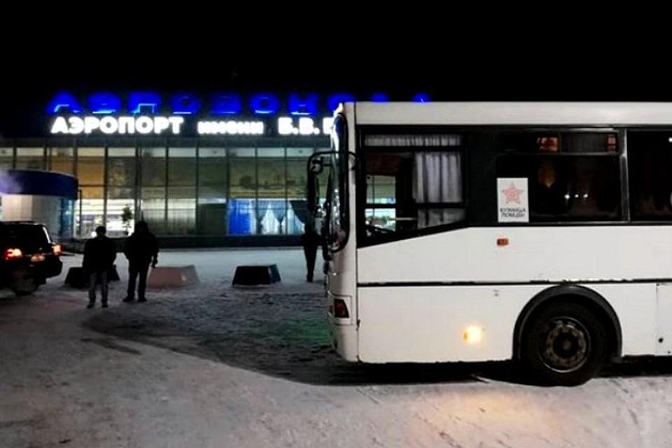 Из новокузнецкого аэропорта в Шерегеш отправился первый автобус