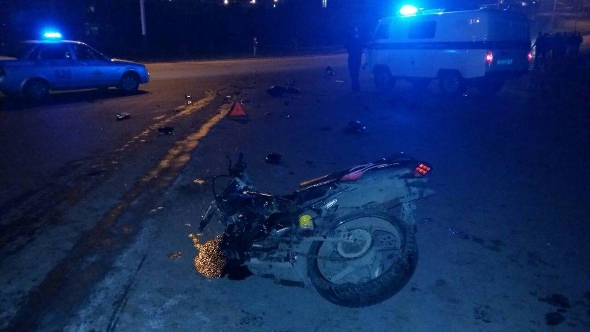 В Прокопьевске завершено расследование ДТП, в котором погиб 15-летний мотоциклист