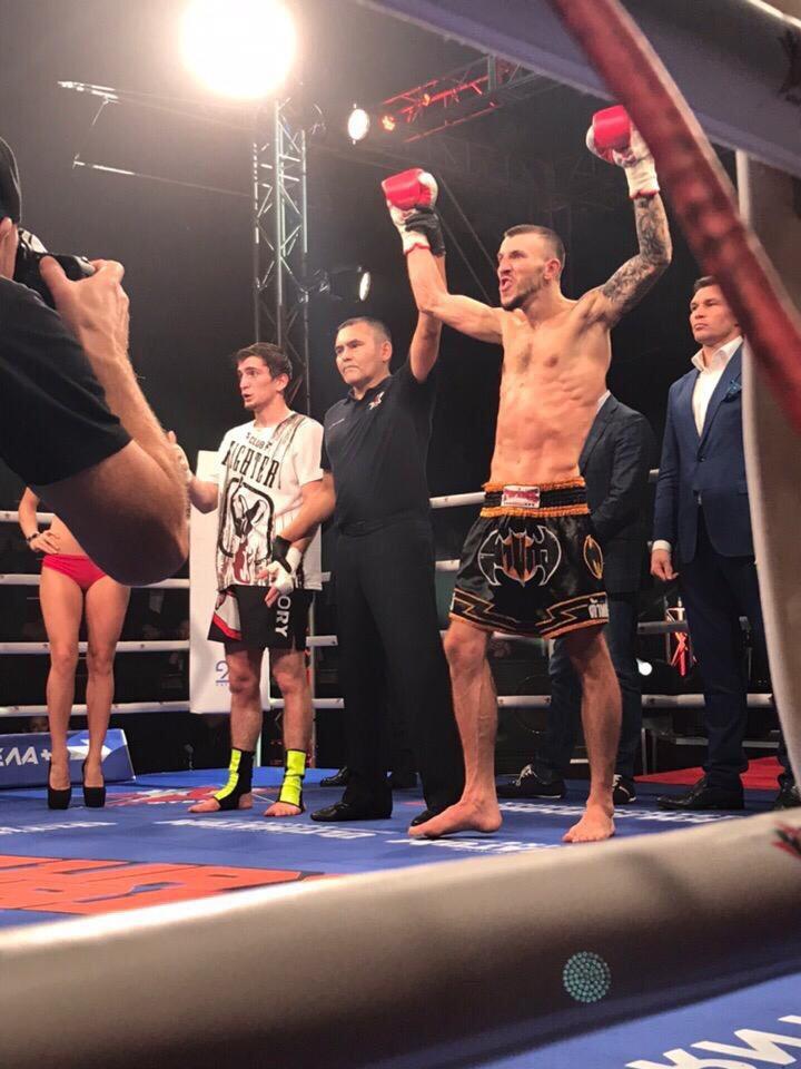 Прокопчанин стал чемпионом России по тайскому боксу среди профессионалов