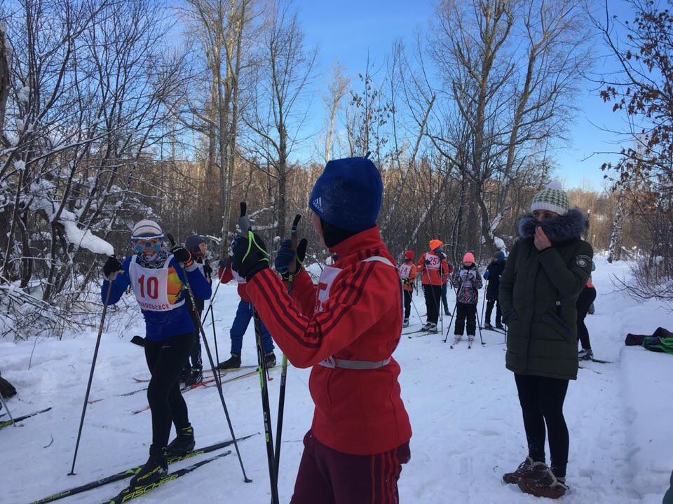 В Прокопьевске состоялись лыжные гонки