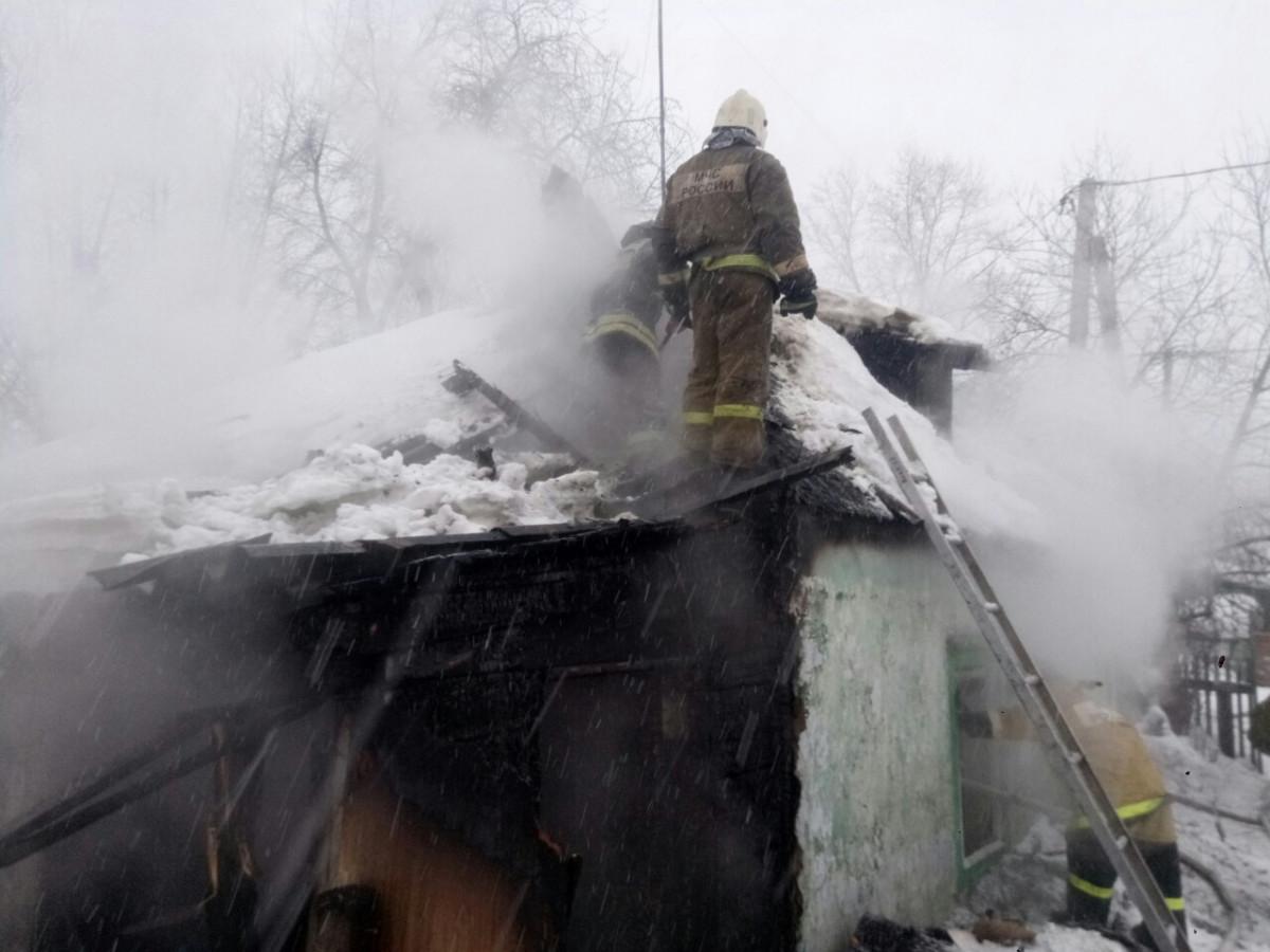 В Прокопьевске при пожаре погибли два человека