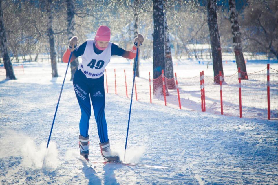 В Прокопьевске состоялись областные соревнования по лыжным гонкам