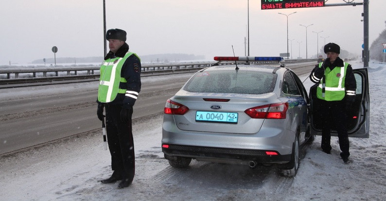 ГИБДД Кузбасса: в мороз водителям нужно проявлять особую бдительность