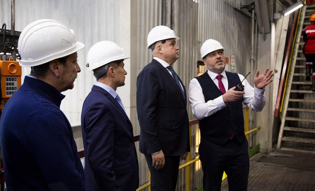В Киселевске открыли новую обогатительную фабрику
