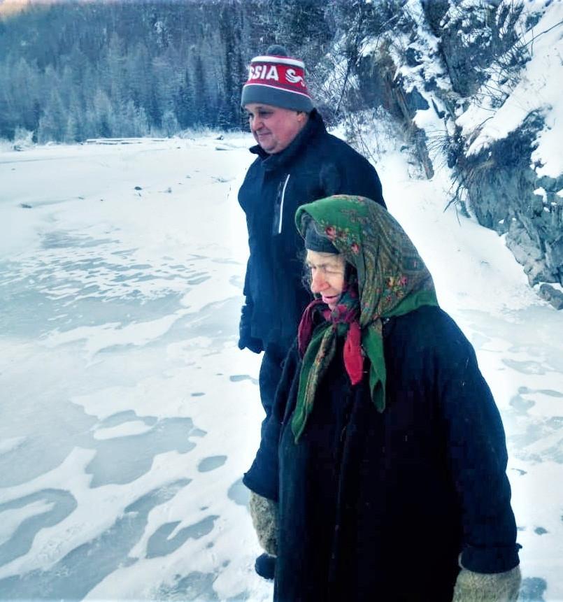 Сергей Цивилев посетил отшельницу Агафью Лыкову