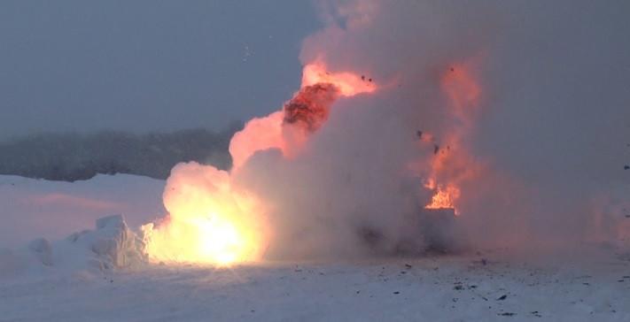 Крупная партия оружия и боеприпасов уничтожена в Кузбассе