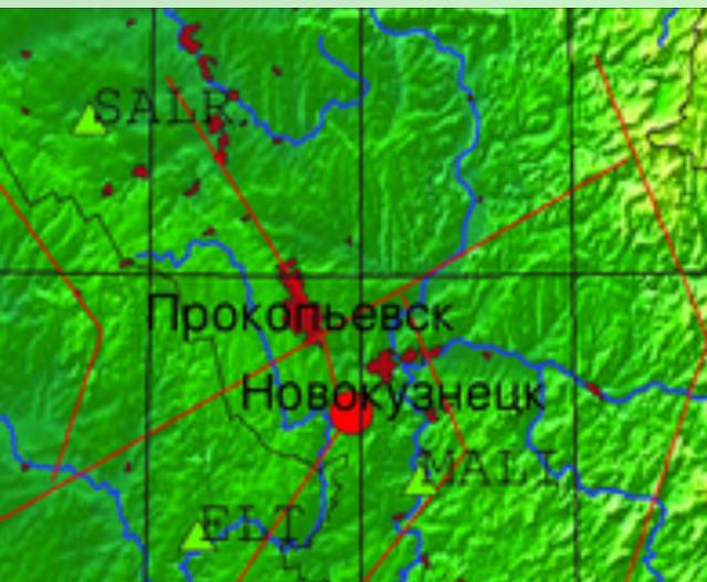 На юге Кузбасса зарегистрирован подземный толчок