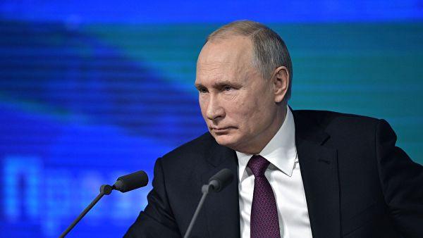 Владимир Путин ответил на вопрос о своей женитьбе