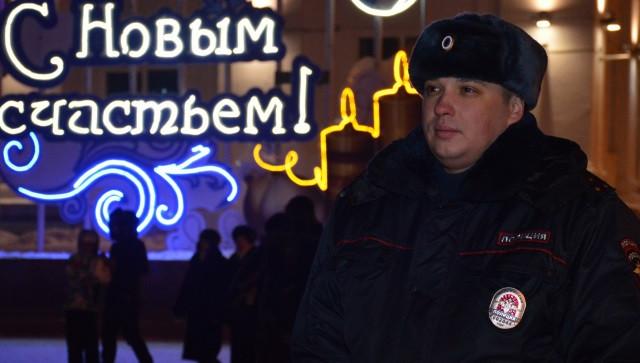 В Кузбассе в новогоднюю ночь за порядком будут следить более 2 тысяч правоохранителей