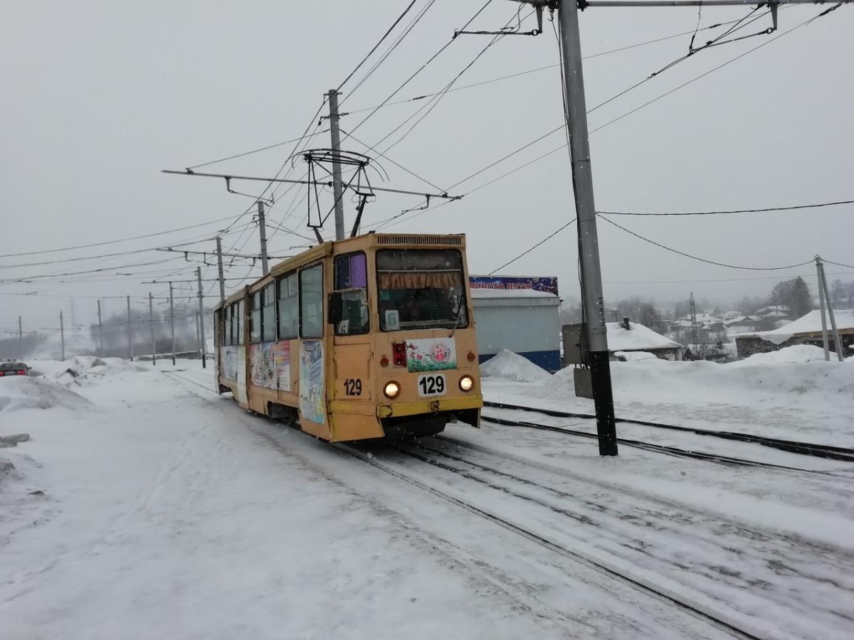 Как в Прокопьевске будут работать трамваи 1 января