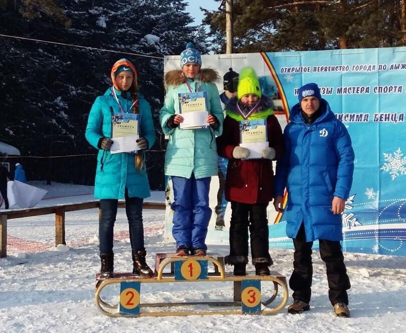 Прокопьевская лыжница победила на областных соревнованиях