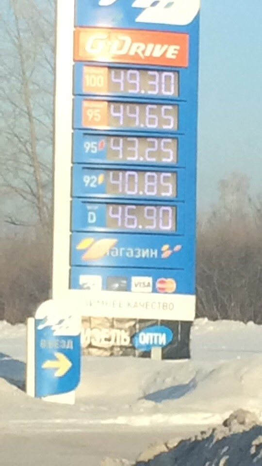В Прокопьевске подорожал бензин
