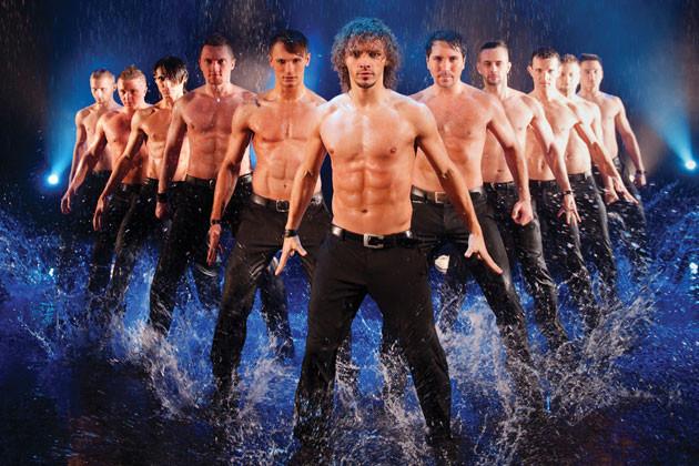 В Прокопьевске состоится шоу под дождем