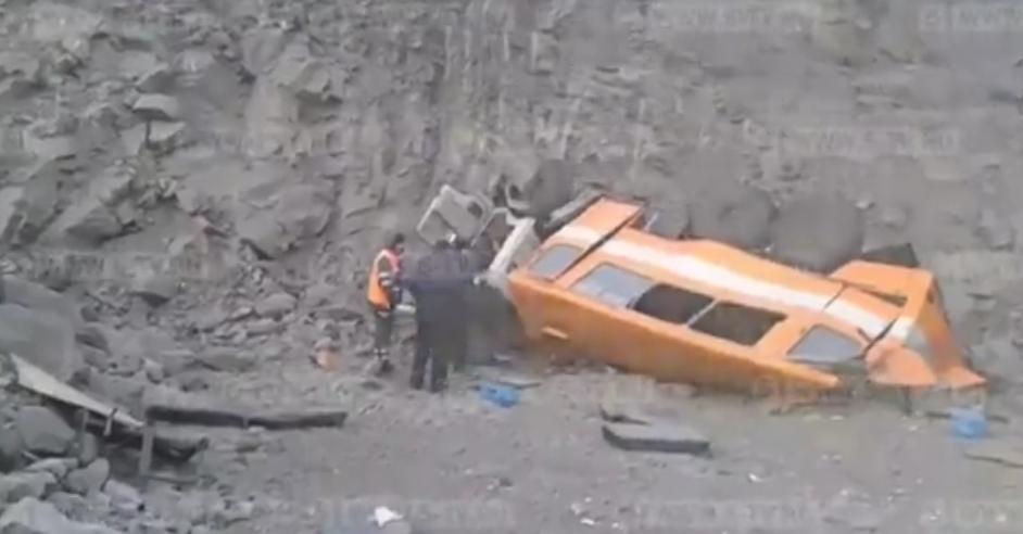 В Кузбассе перевернулась вахтовка с шахтерами: 6 человек погибли, 16 - травмированы
