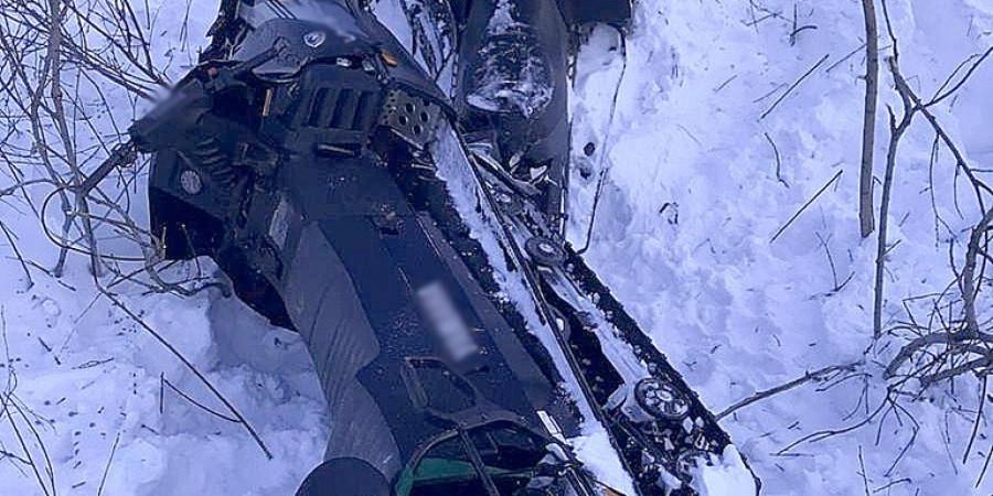 В Прокопьевском районе при столкновении двух снегоходов погиб человек