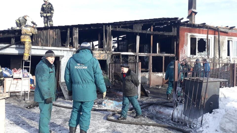 Нужна помощь: в Прокопьевском районе после пожара семья попала в бедственное положение