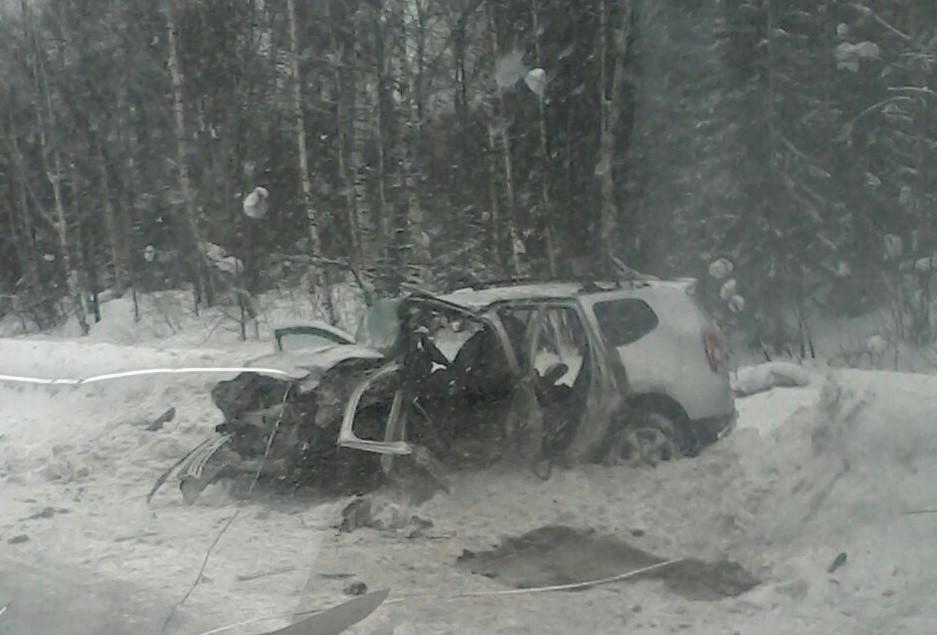 Смертельное ДТП произошло на трассе Кузбасса
