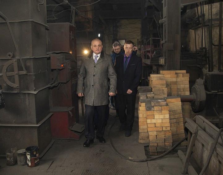 Губернатор потребовал прекратить работу обогатительной фабрики в Киселевске