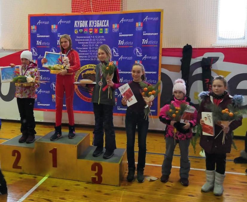 Прокопьевские лыжницы вошли в число лучших в области
