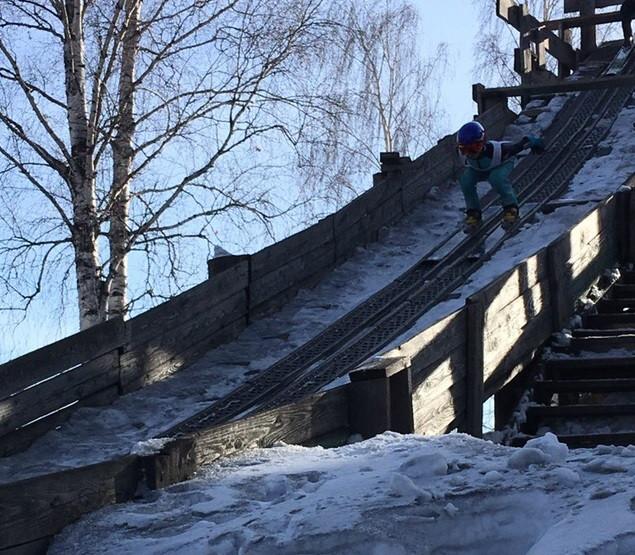 В Прокопьевске выявили лучшего по прыжкам на лыжах с трамплина