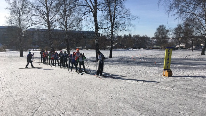 В Прокопьевске состоялась лыжная гонка