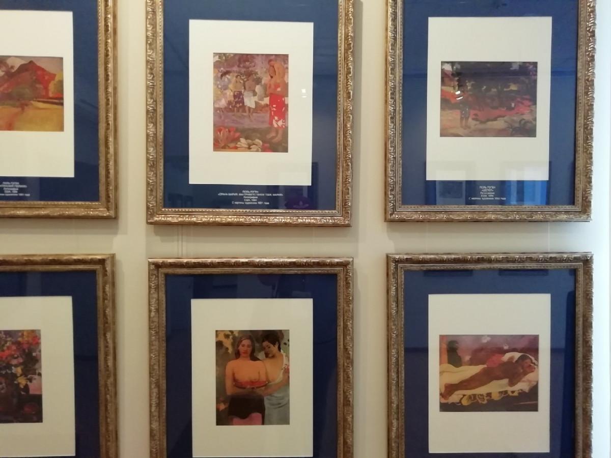 В Прокопьевске открылась межрегиональная выставка «Роковая встреча. Винсент Ван Гог и Поль Гоген»