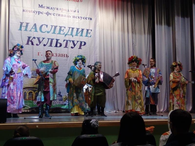 Прокопьевский фольклорный ансамбль покорил Казань