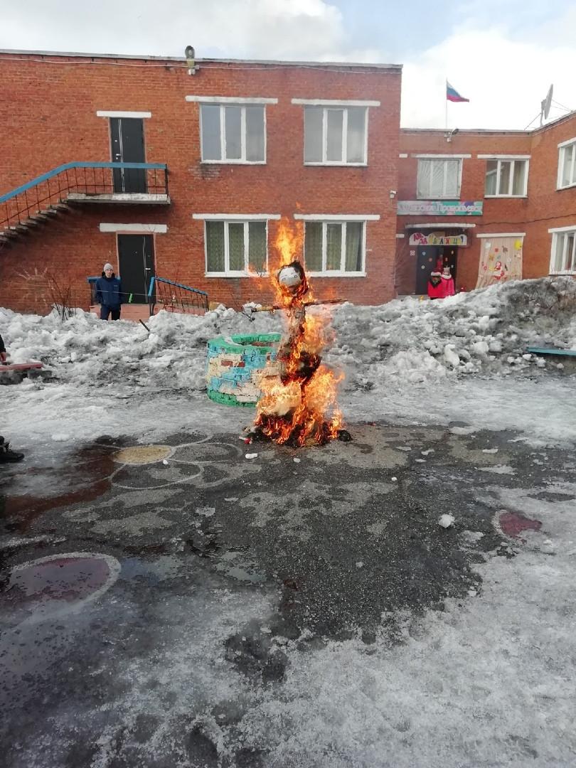 Прокопьевск прощается с зимой: праздник прошел на Северном Маганаке