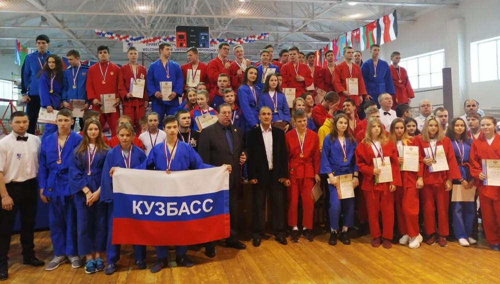 Прокопьевские универсальные бойцы выступили на первенстве России