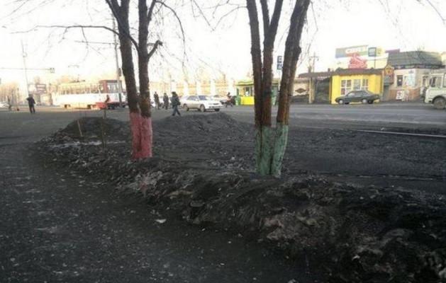 Чьих рук дело: прокуратура выявила источники черного снега в Прокопьевске и Киселевске