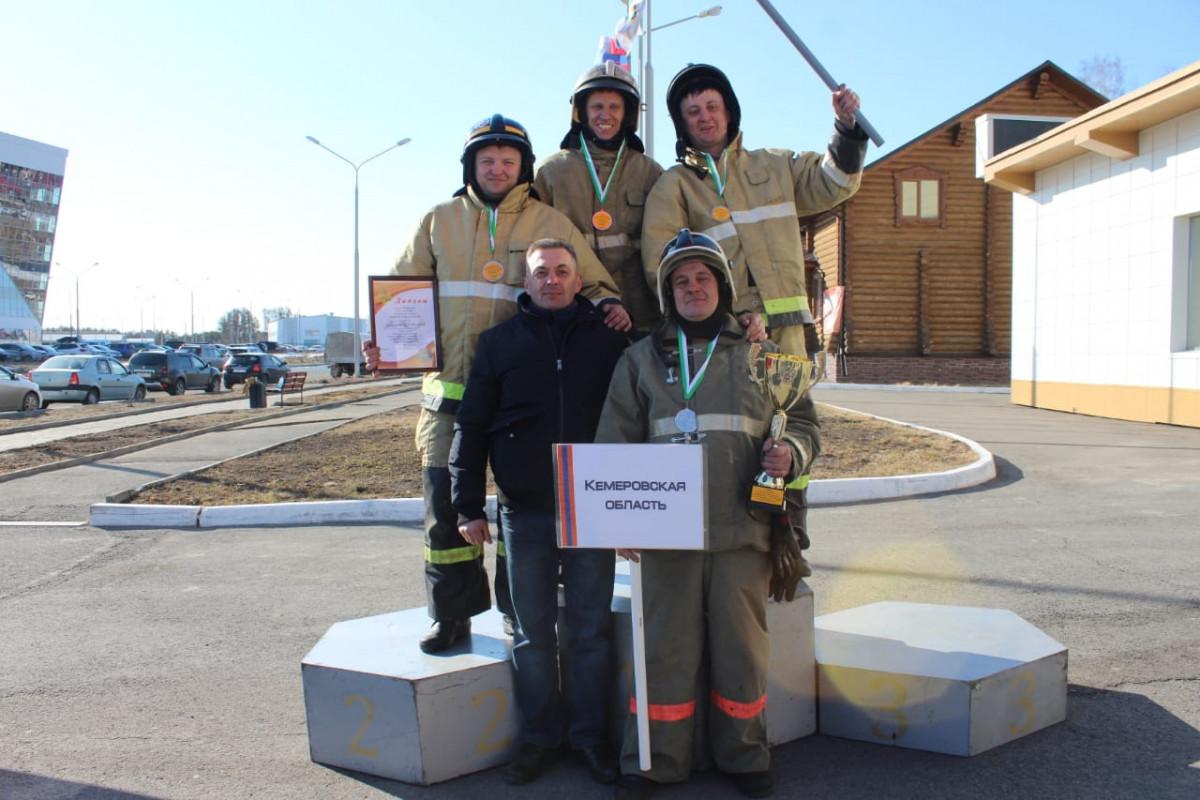 Пожарные Прокопьевска одни из лучших в Сибири