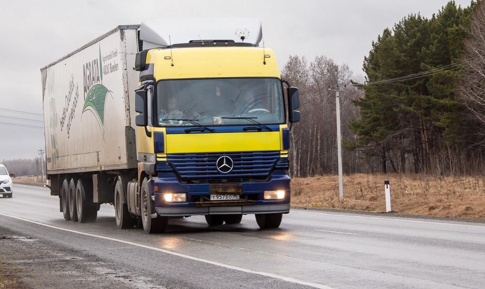 Скоро в Кузбассе начнут действовать ограничения для движения большегрузов