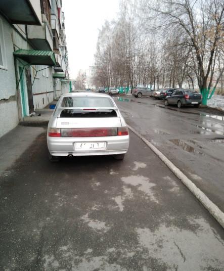 В Прокопьевске неравнодушный горожанин помог привлечь к ответственности водителя, который нарушил ПДД
